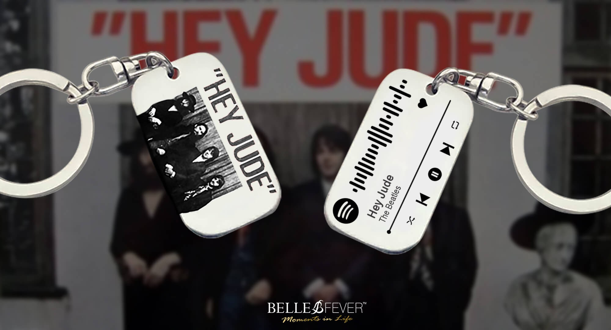Hey Jude Music Tag Spotify Code by Belle Fever