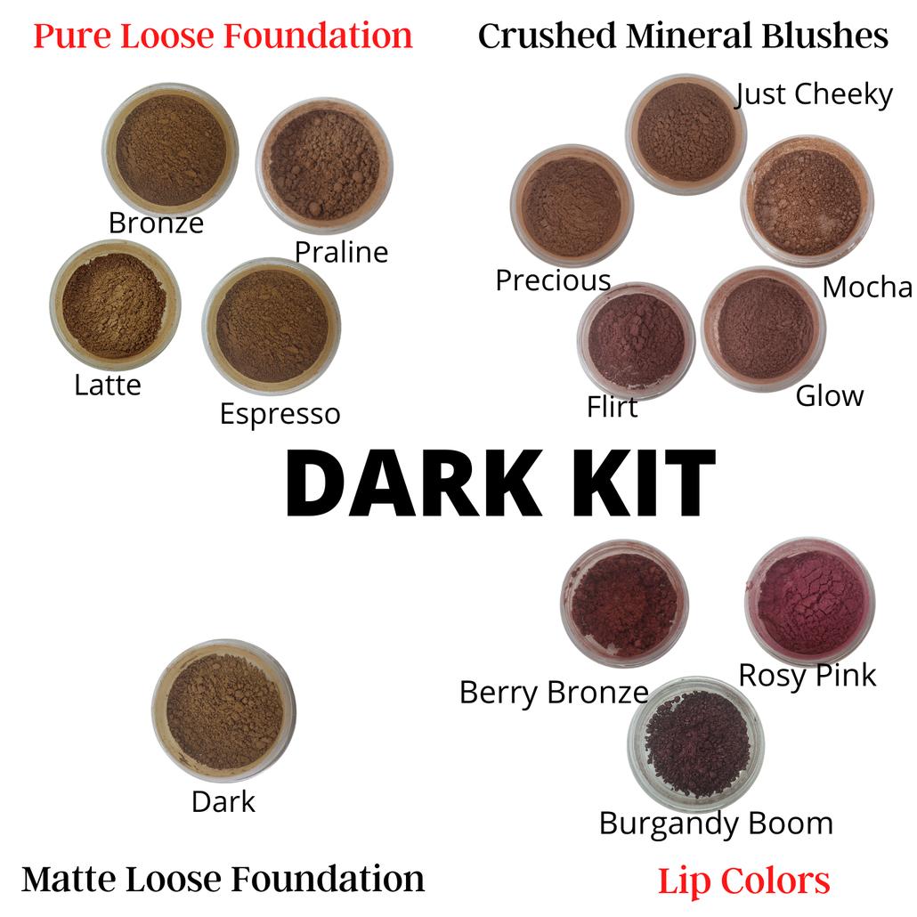 Natural Foundation and Loose Blush Sampler Kit