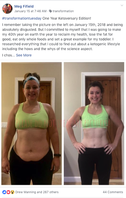 Megs Keto Journey