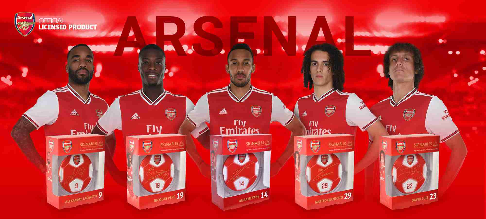 Arsenal soccer players