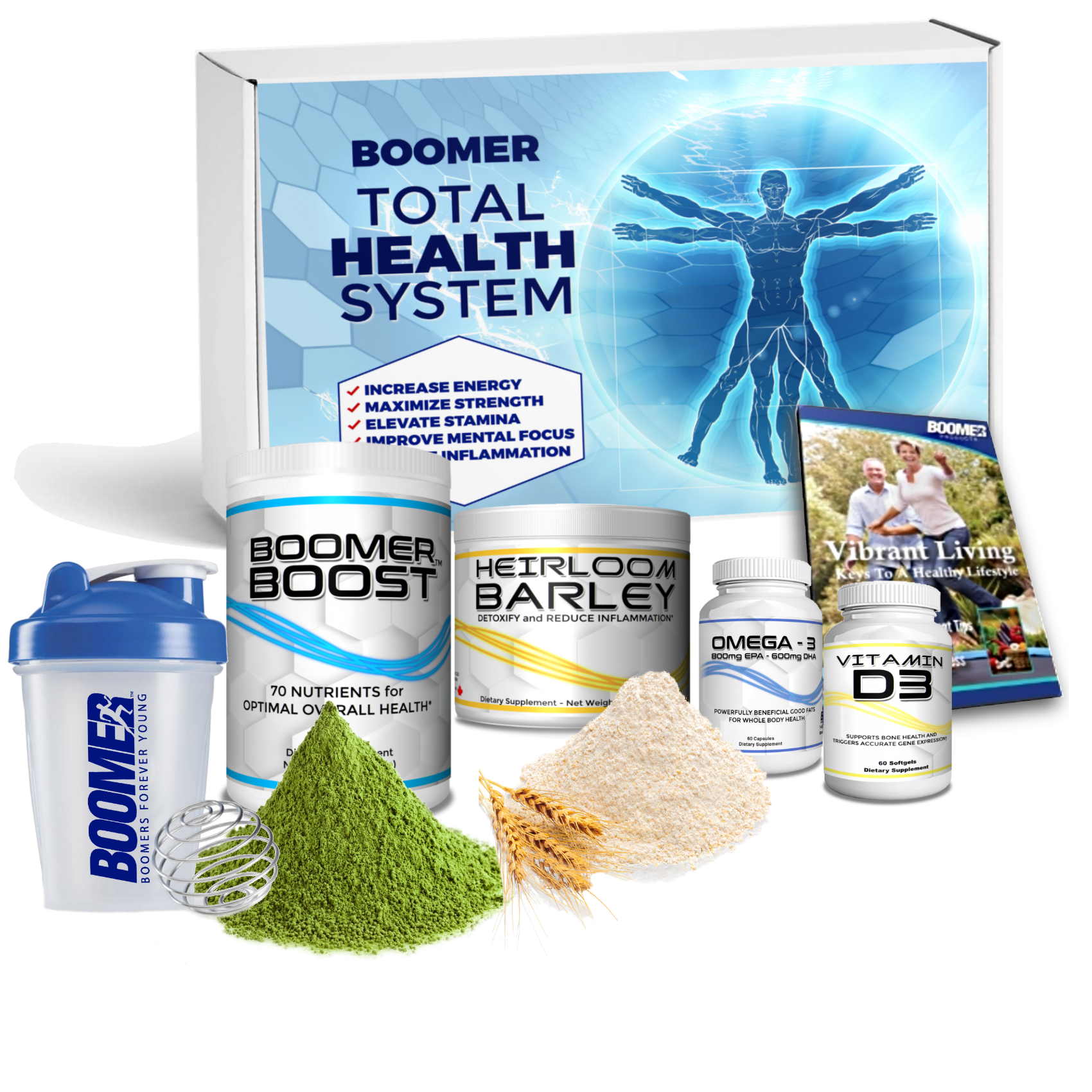 Boomers Starter Total health System