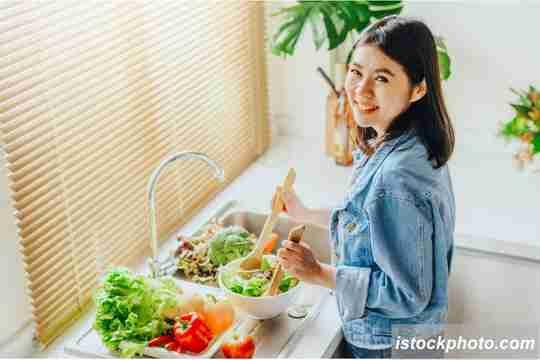 makanan sehat, cara menjaga kesehatan mental