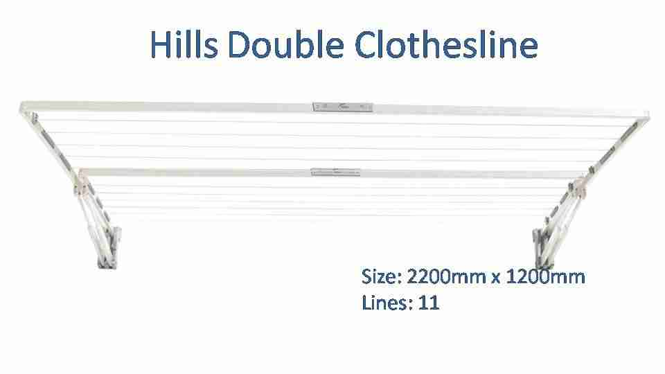 hills double 2200mm wide colour options