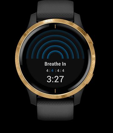 Garmin Venu GPS Smartwatch - Mindful Breathing
