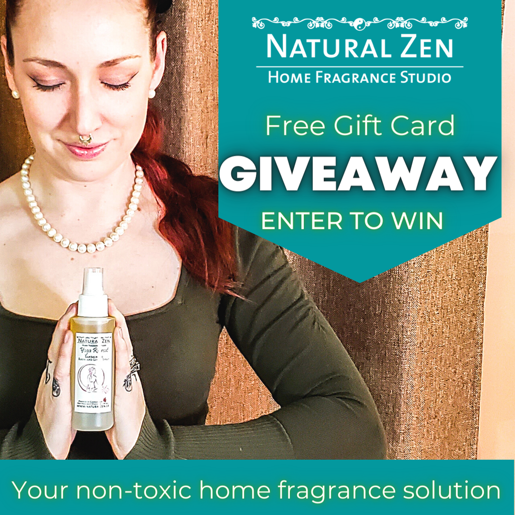 Enter for your chance to win a gift card from Natural Zen Home Fragrance Studio