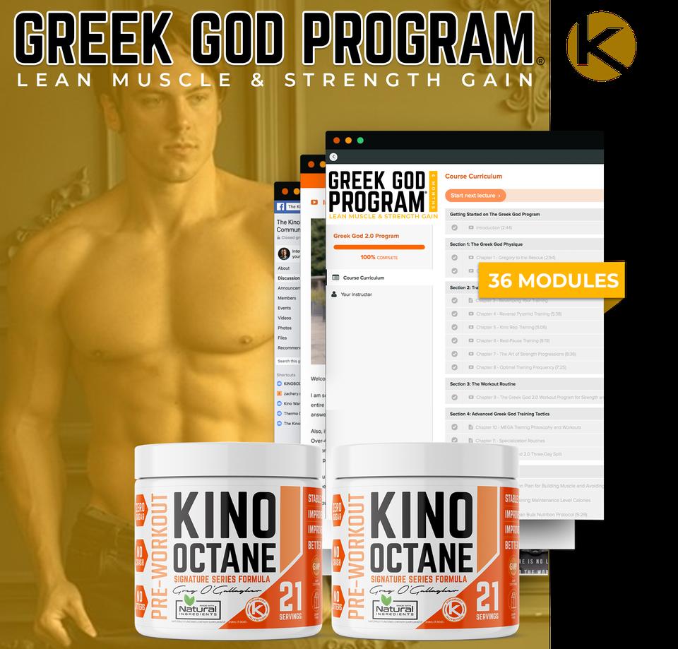 Greek God Program with 2 Octane