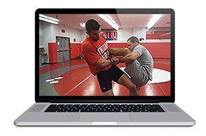 Wrestling Takedown Machine : Drags, Ducks, Trips & Sweeps by Jon Trenge