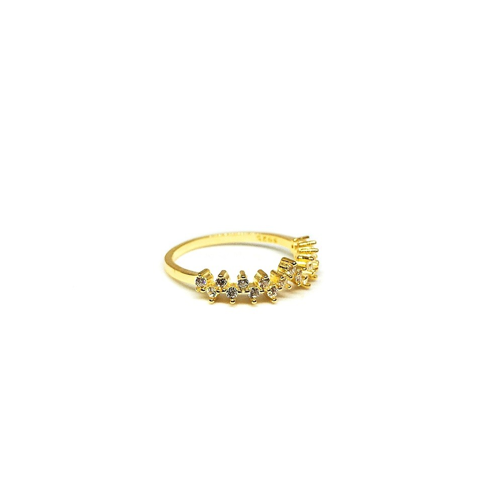 Esther Cluster 18K Gold Vermeil Ring
