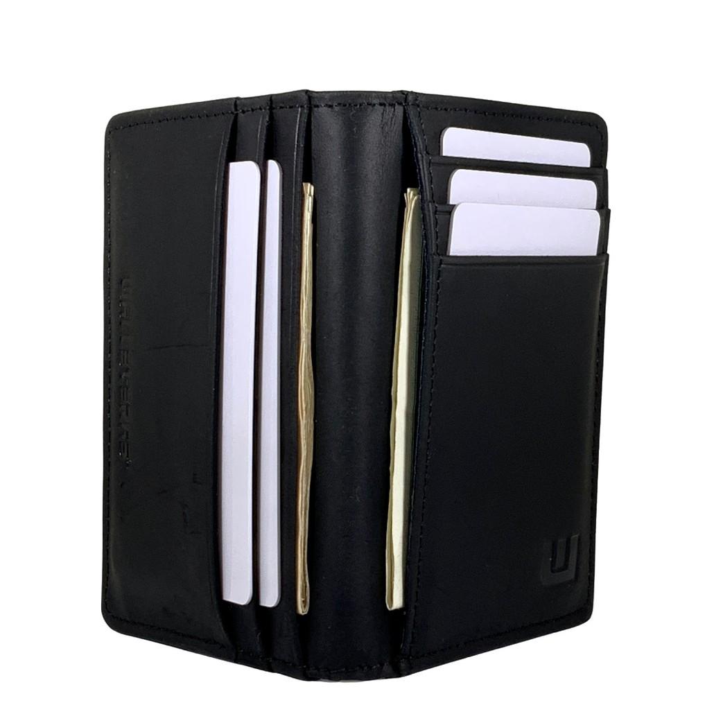 RFID Front Pocket Wallet - Double Espresso T1