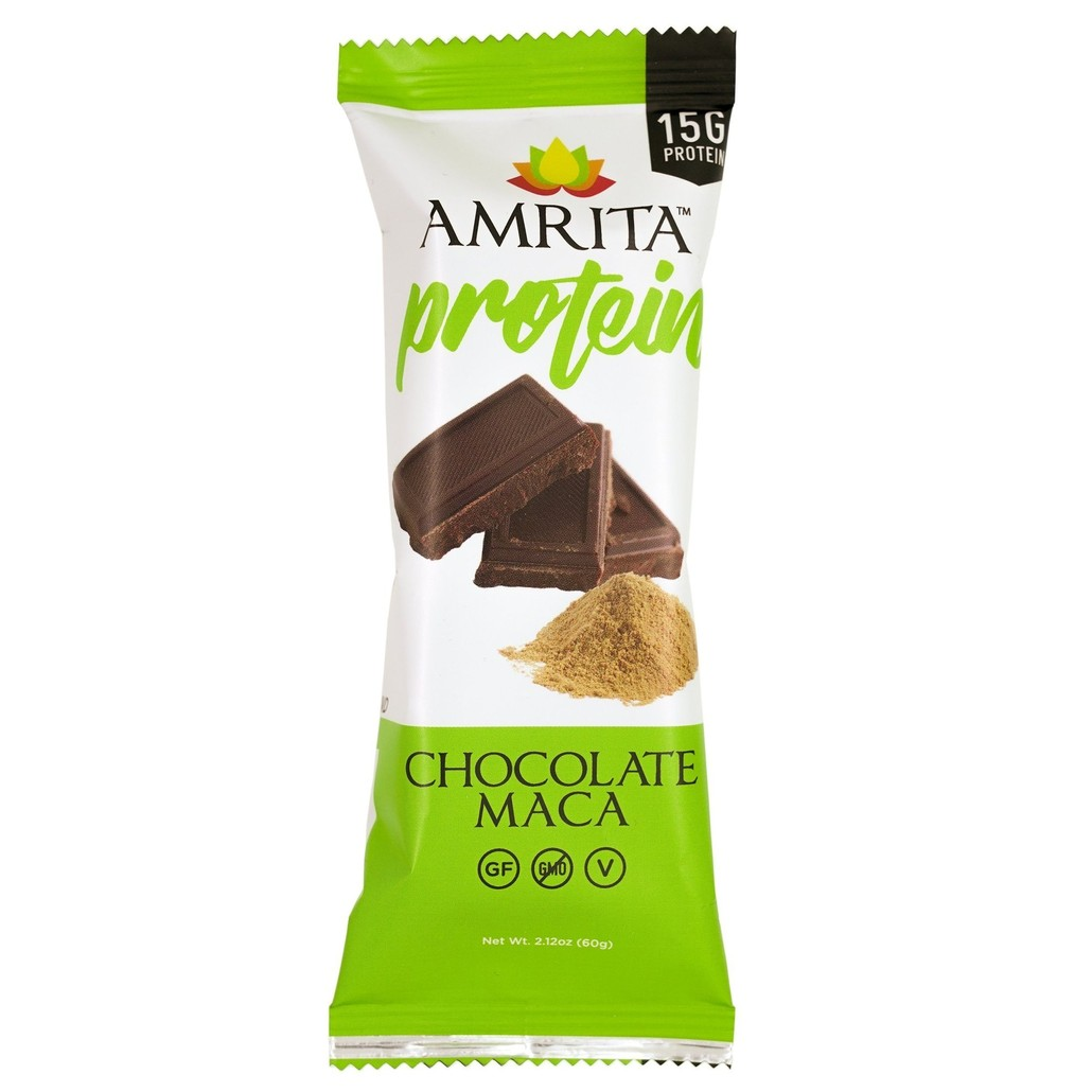 Amrita Chocolate Maca Protein Bar