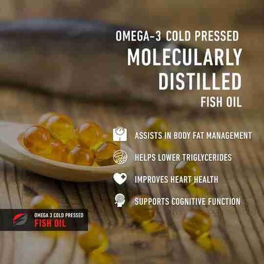 Strength Genesis Omega 3 Fish Oil
