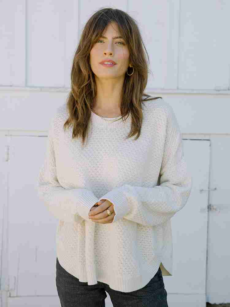 Jude Pullover Cotton Sweater