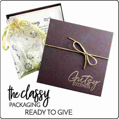 Deep Waters Gutsy Goodness Necklace Packaging
