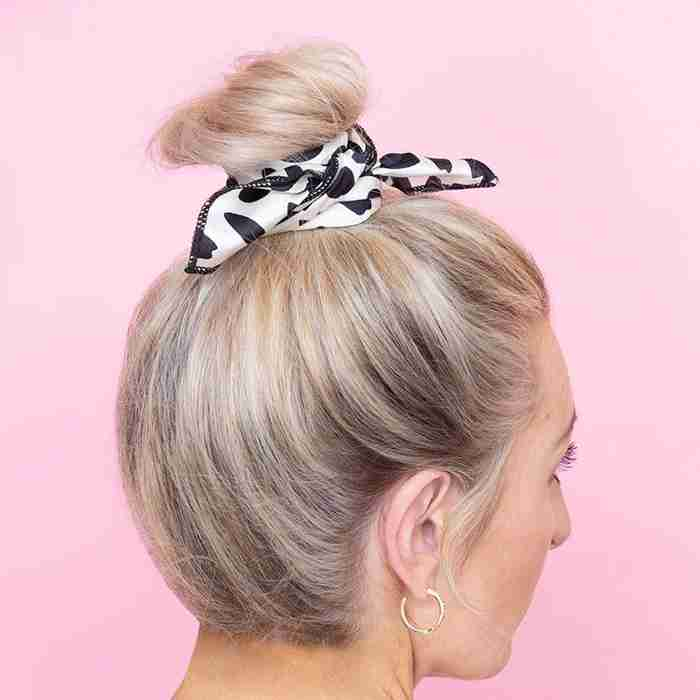Dotty Hair Scarf
