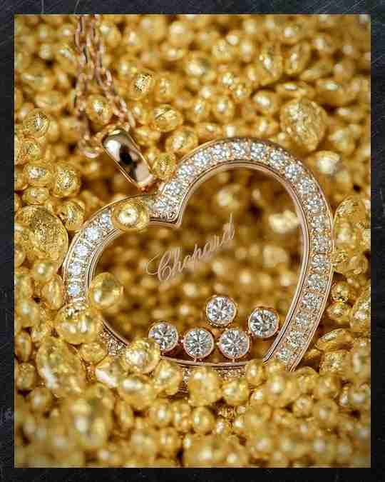 A Chopard Happy Diamond pendant