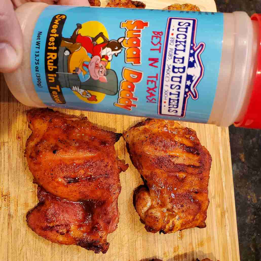 Suckle Busters Sugar Daddy BBQ Rub Pork & Chicken