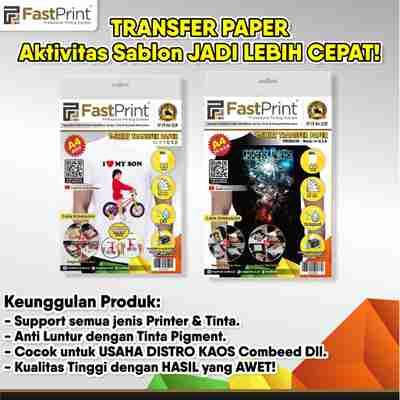 transfer paper, kertas transfer paper kaos, kertas transfer paper