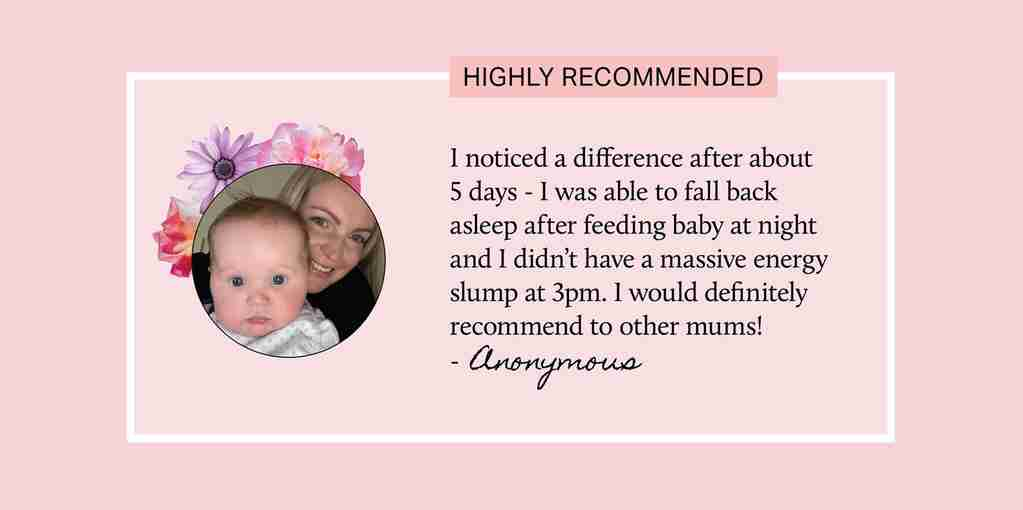 A happy customer review!