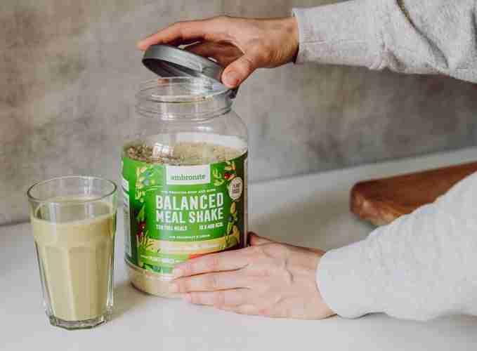 Balanced Meal Shake käytössä