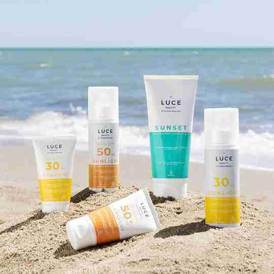 Prodotti solari - Spiaggia - Luce Beauty by Alessia Marcuzzi