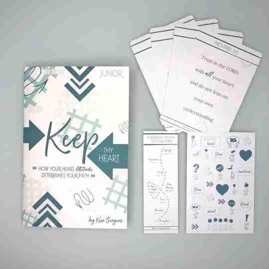 keep thy heart Bible study for kids