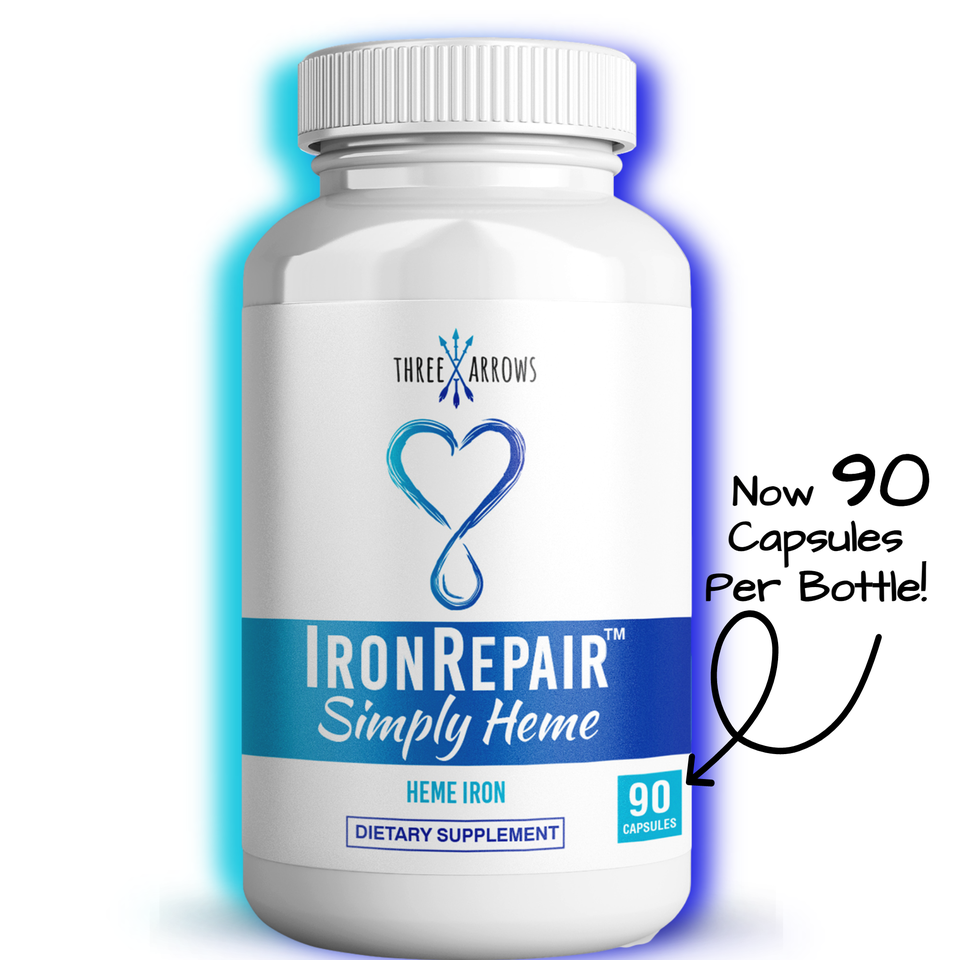 Iron Repair Simply Heme supplement with iron for women