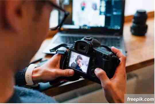 edit gambar di kamera
