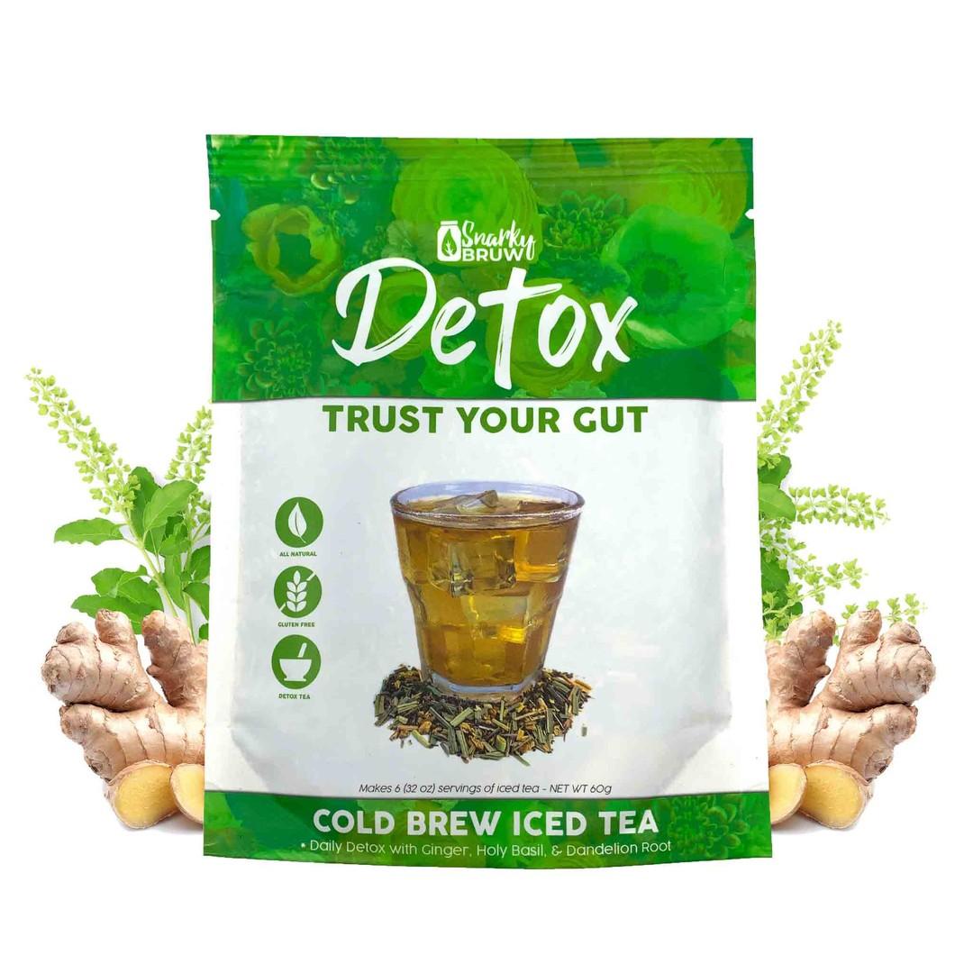 SnarkyBRUW Trust Your Gut - Detoxifying Loose Leaf Tea