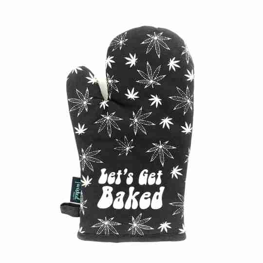 Stoner Gifts Let's Get Baked Oven Mitt | Twisted Wares®