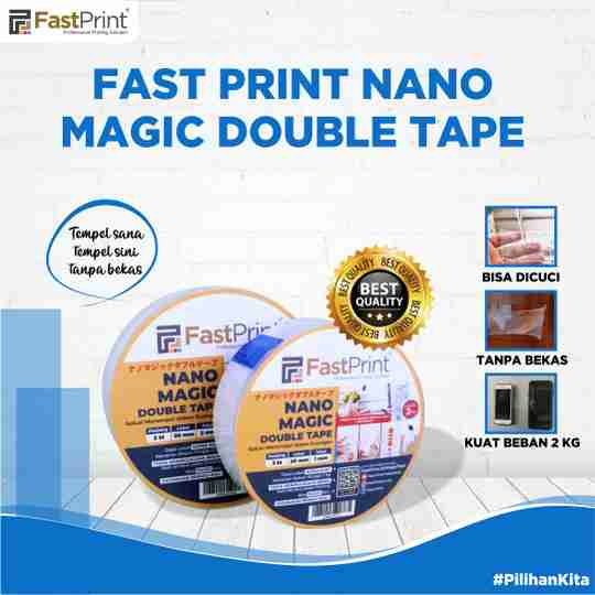 Fast print nano magic double tape, nano magic tape, nano magic double tape