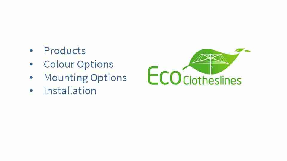 2800mm wide clothesline options and what is covered in this article