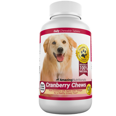 Cranberry Pills for Dogs - Amazing Cranberry Chews