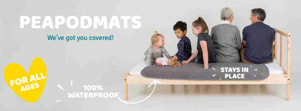 PeapodMats Bedwetting and Incontinence Mattress Protector