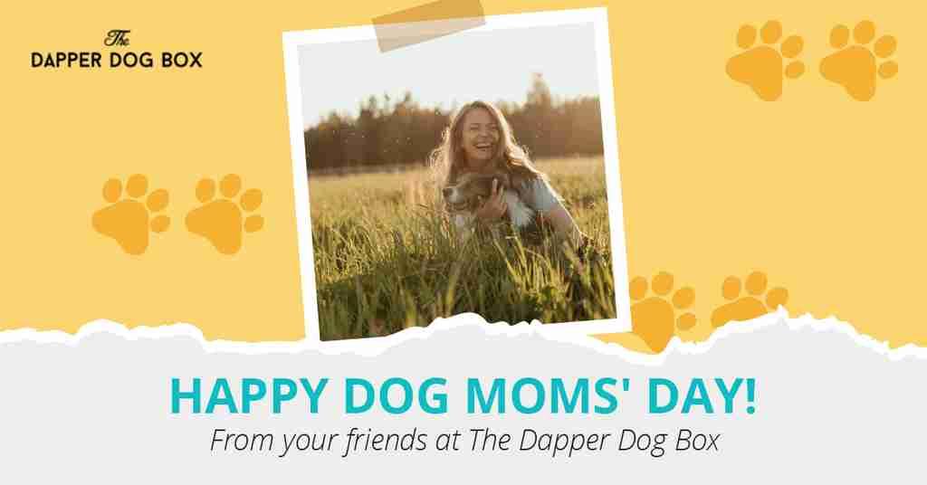National Dog Moms' Day greeting