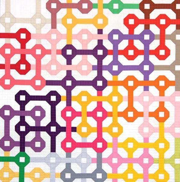 kona tangled free quilt pattern