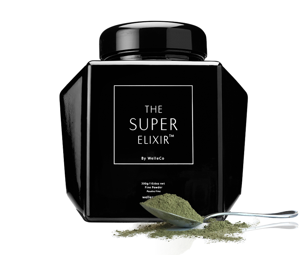The Super Elixir by Welleco, probably the most expensive super greens product on the market right now