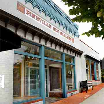 Pineville Rug Gallery Storefront