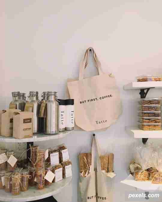 shopping bags, tote bag