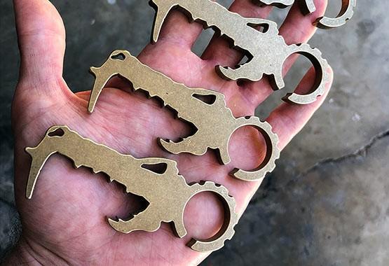three dino phobe pocket tools