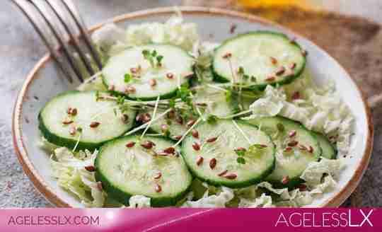 Traditional Baja Cucumber Salad