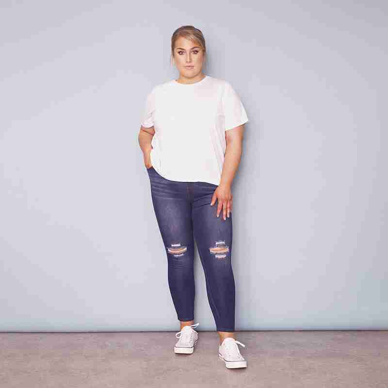 Curve Jegging Light Denim