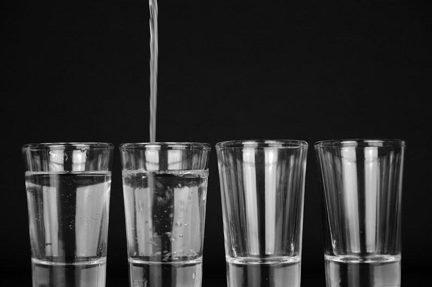 Ionized Water Glass