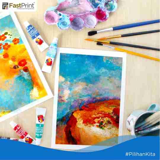 hobi bareng, ngelukis, lukisan