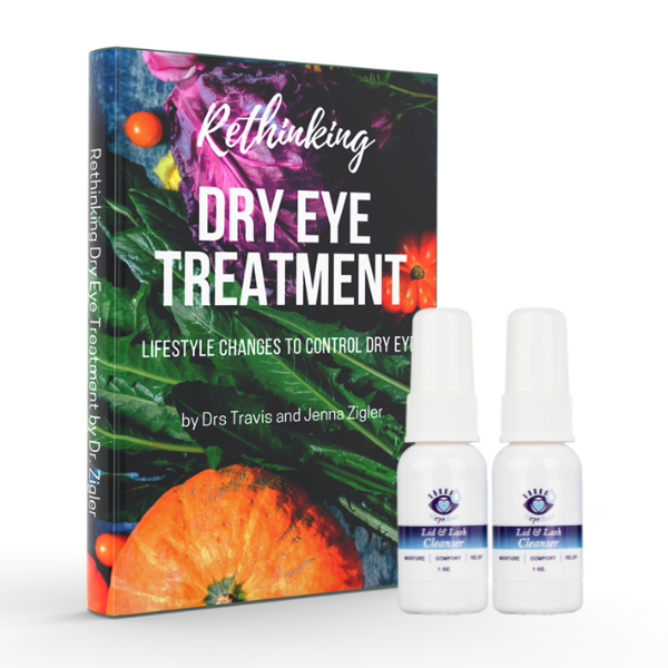 Rethinking Dry Eye Treatment Book by Dr. Travis Zigler