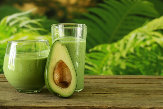 Avocado in je smoothie