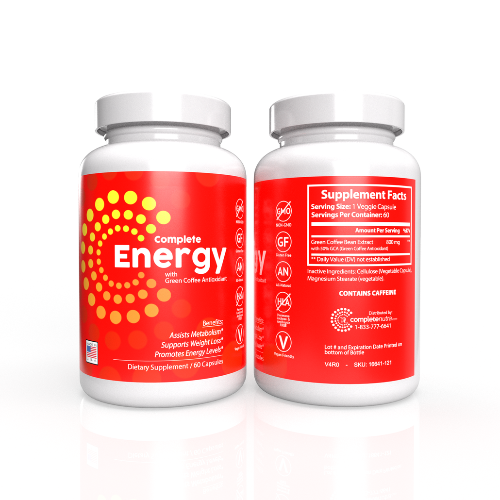 Complete Energy Formula with Green Coffee Antioxidant