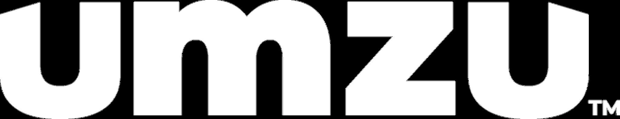 White UMZU logo