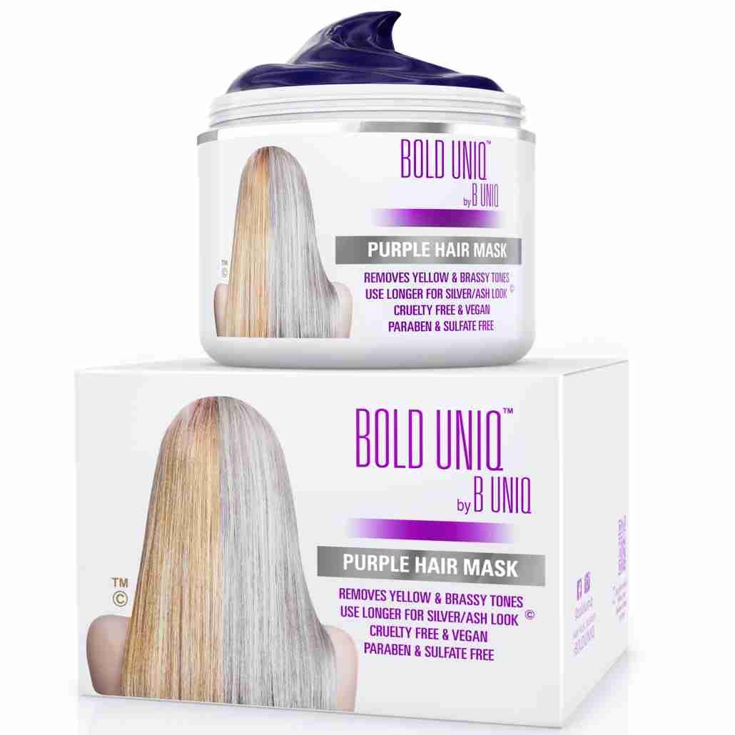 bold uniq purple mask