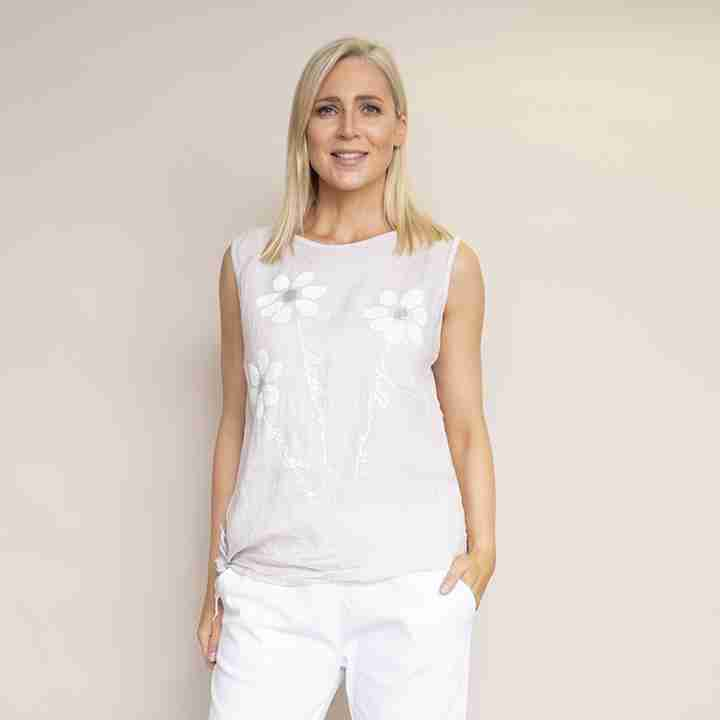 Laura Top(Beige)