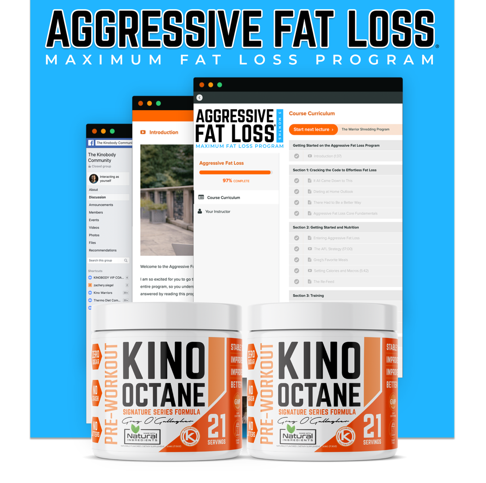 Aggressive Fat Loss Program with 2 Octane